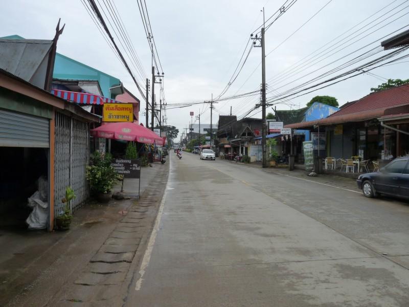 Main Street of Chiang Khong