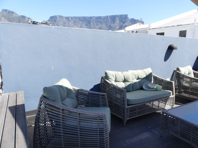 Table Mountain from roof terrace