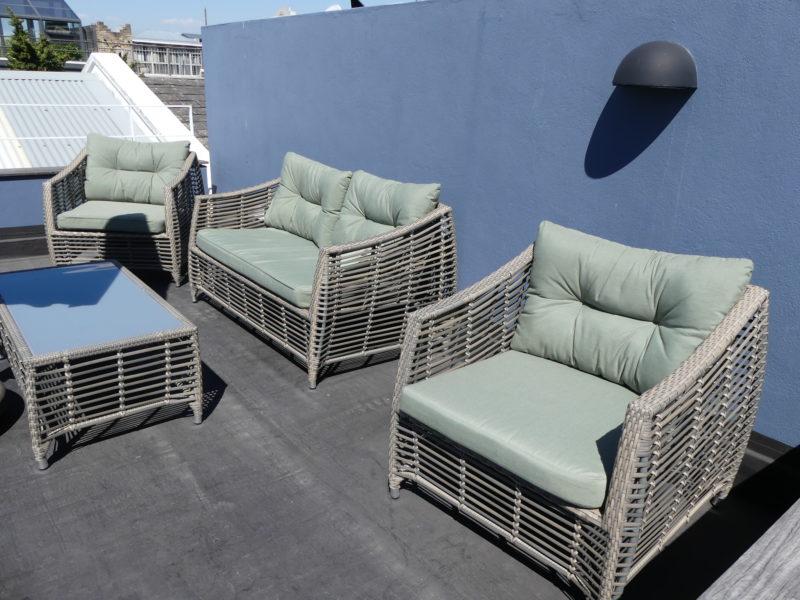 Roof terrace, Waterkant